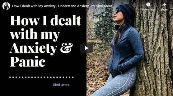 How I dealt with My Anxiety | Understand Anxiety
